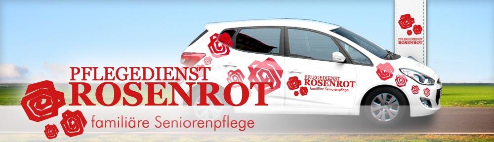 Pflegedienst Rosenrot - familiäre Seniorenpflege. Mobiler Pflegedienst in Leipzig.