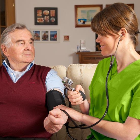 Bei uns bestimmen Sie, wo Sie Pflege und Hilfestellung benötigen.