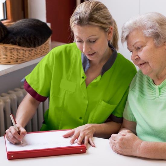 Gemeinsam finden wir das passende Pflegemodell für Sie und klären alle Formalitäten.